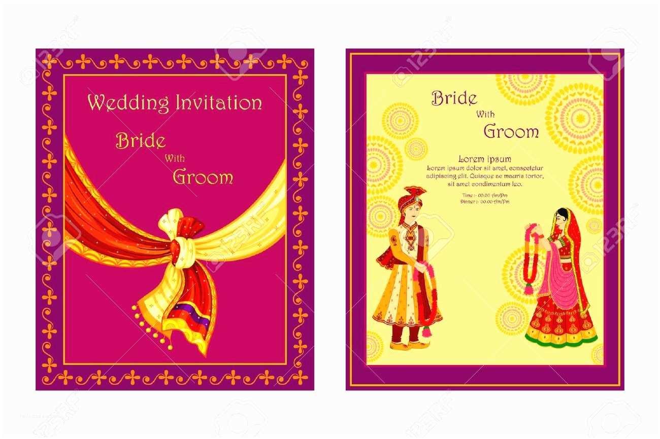 Wedding Invitation Cards Online Design Hindu Wedding Invitation Card Line Free