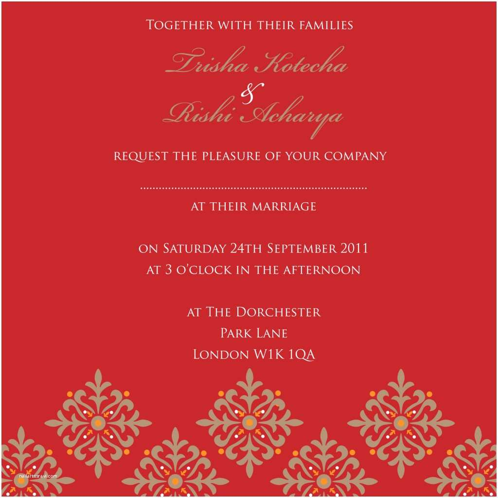 Wedding Invitation Cards Online Free India Indian Wedding Cards Design Templates