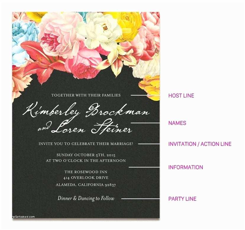 Wedding Invitation Cards Online Free India Line Wedding Invitations Wedding Invitation Wording