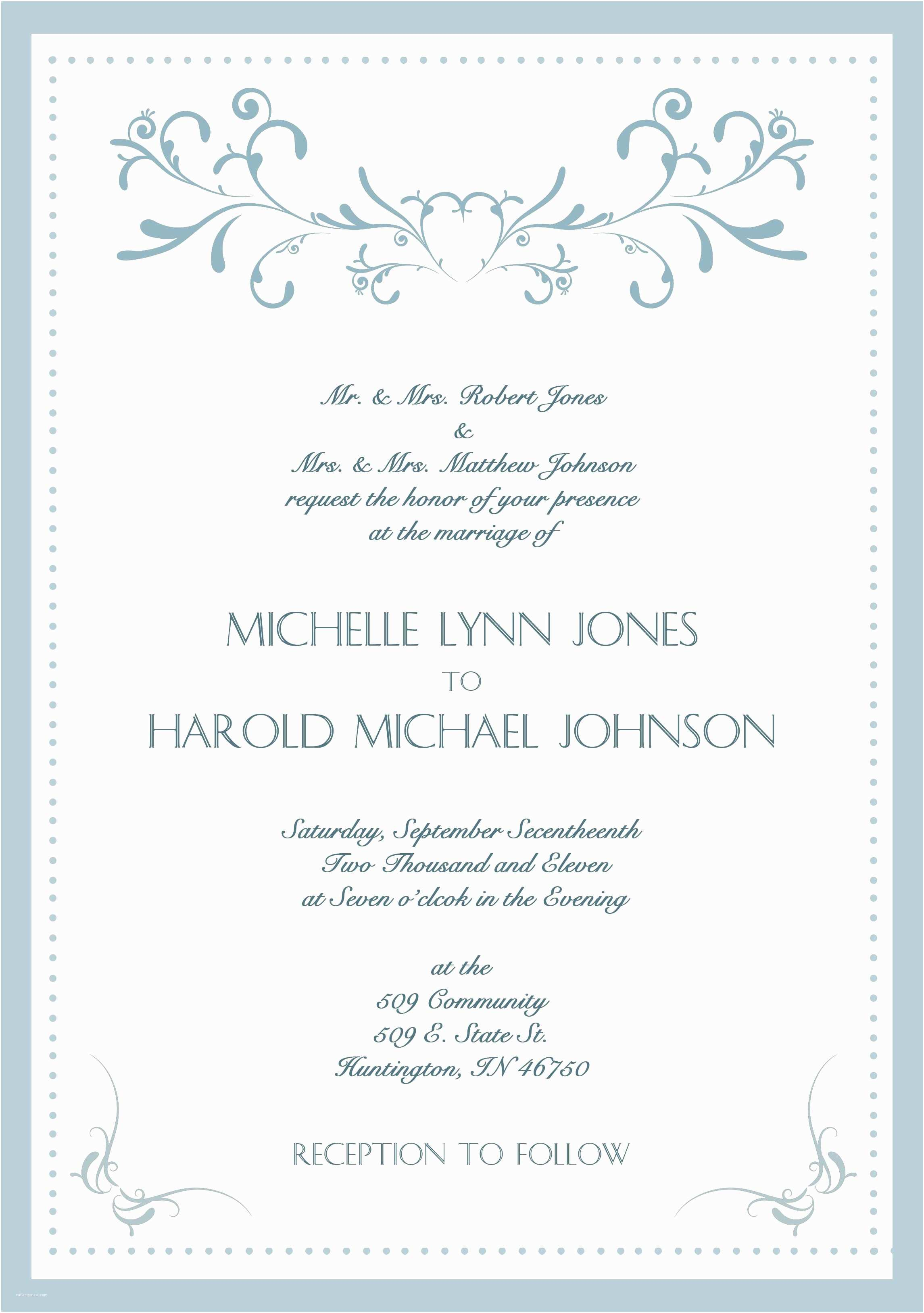Wedding Invitation Cards Samples Sample Wedding Invitation Cards In English