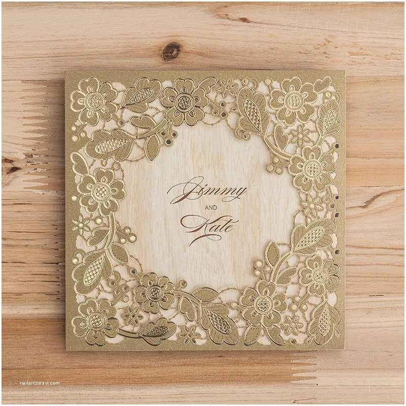 Wedding Invitation Cardstock and Envelopes Aliexpress Buy Laser Cut Wedding Invitations Cards