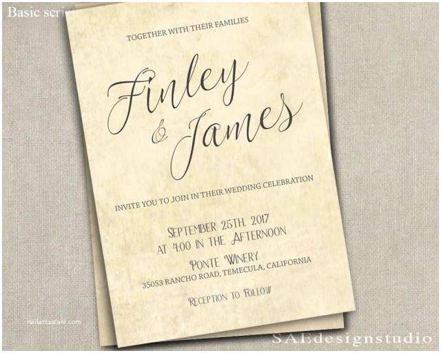 Wedding Invitation Cardstock and Envelopes Printed Country Rustic Wedding Invitation & Rsvp W Both