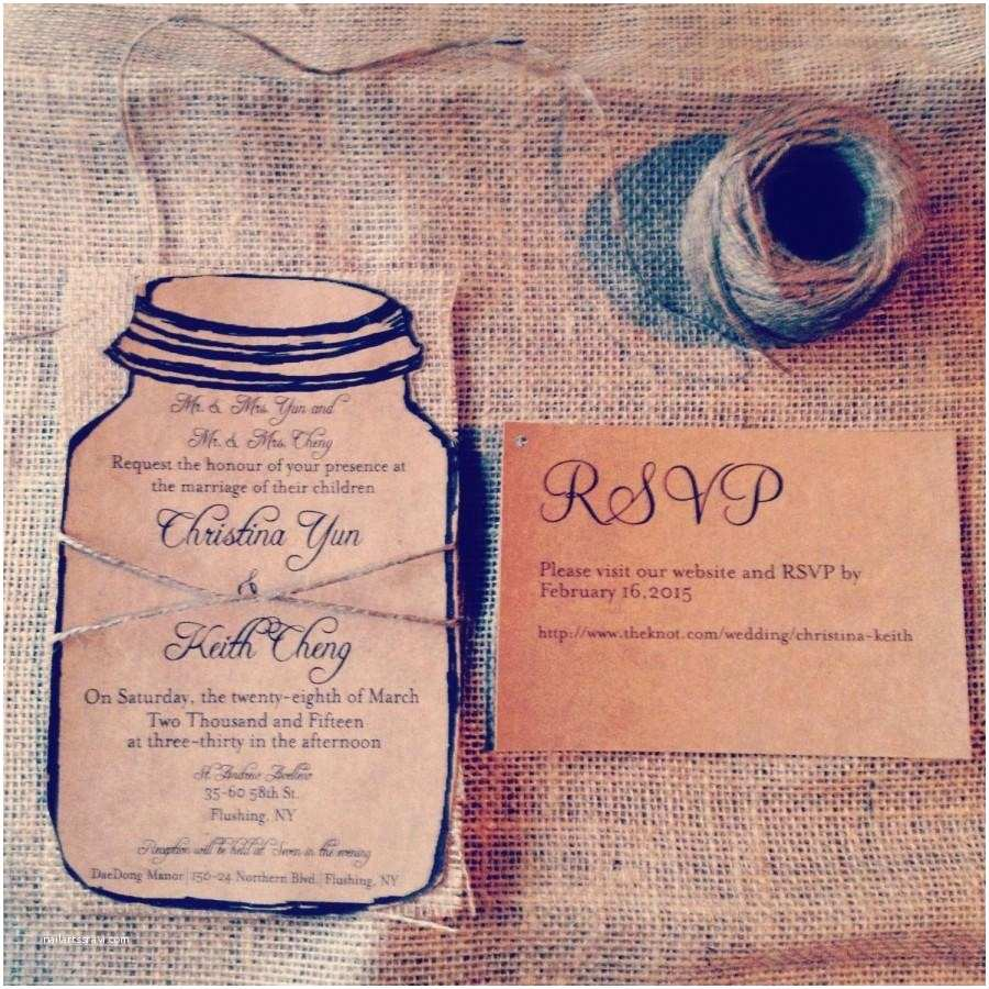 Wedding Invitation Cardstock and Envelopes Rustic Kraft Wedding Invitation 110 Invitations with 110