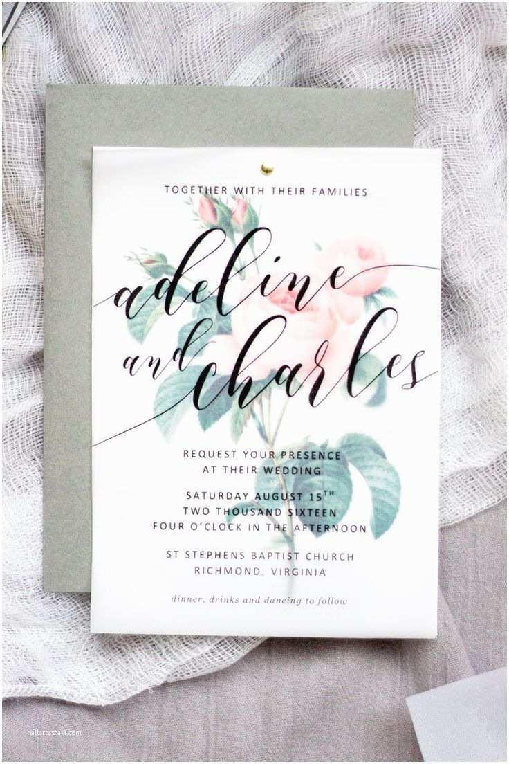 Wedding Invitation Cardstock and Envelopes the 25 Best Vellum Paper Ideas On Pinterest
