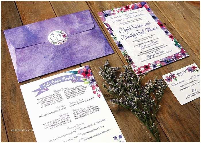 Wedding Invitation Cebu forever afternoon