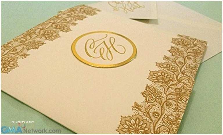 Wedding Invitation Cebu Look Heart Evangelista and Chiz Escudero's Wedding Invitation