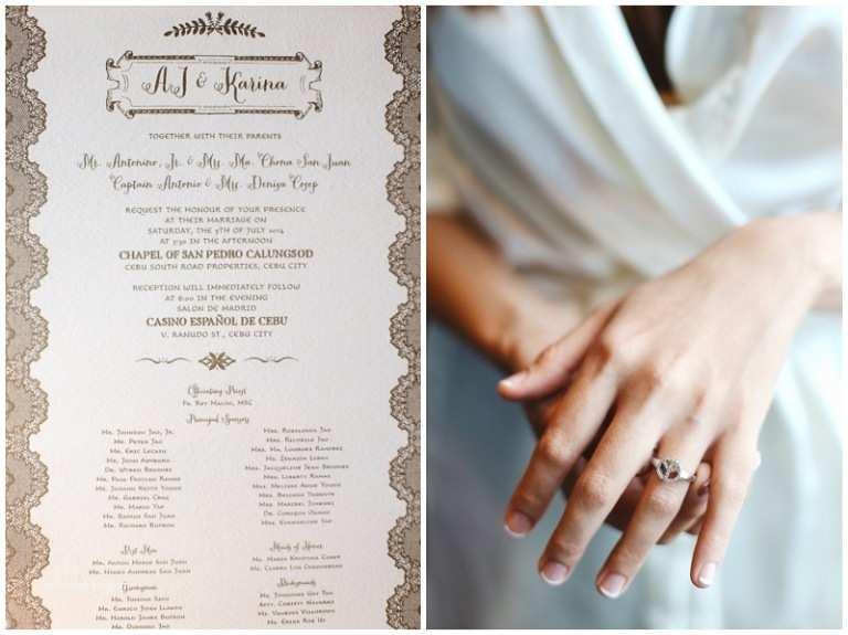 Wedding Invitation Cebu Rainbowfish Cebu Wedding Grapher