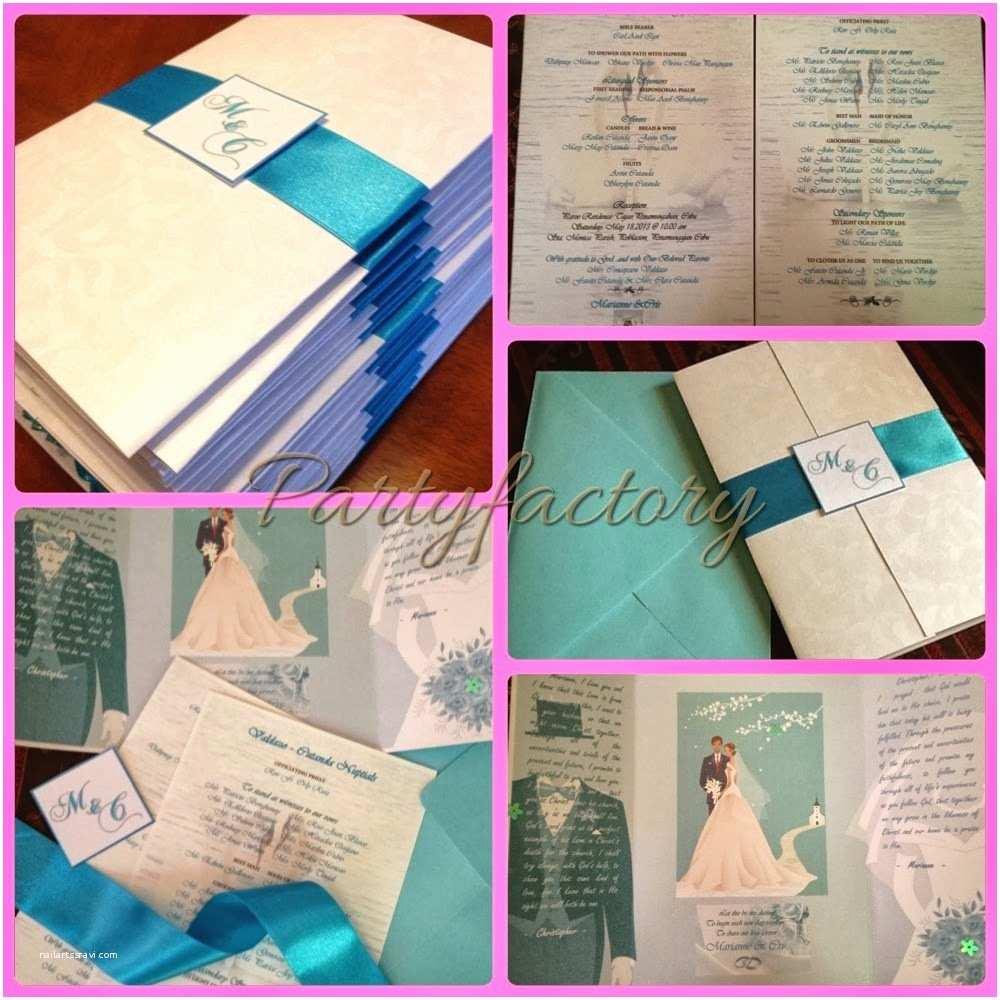 Wedding Invitation Cebu Wel E to Partyfactory Cebu Cris & Marianne S Wedding