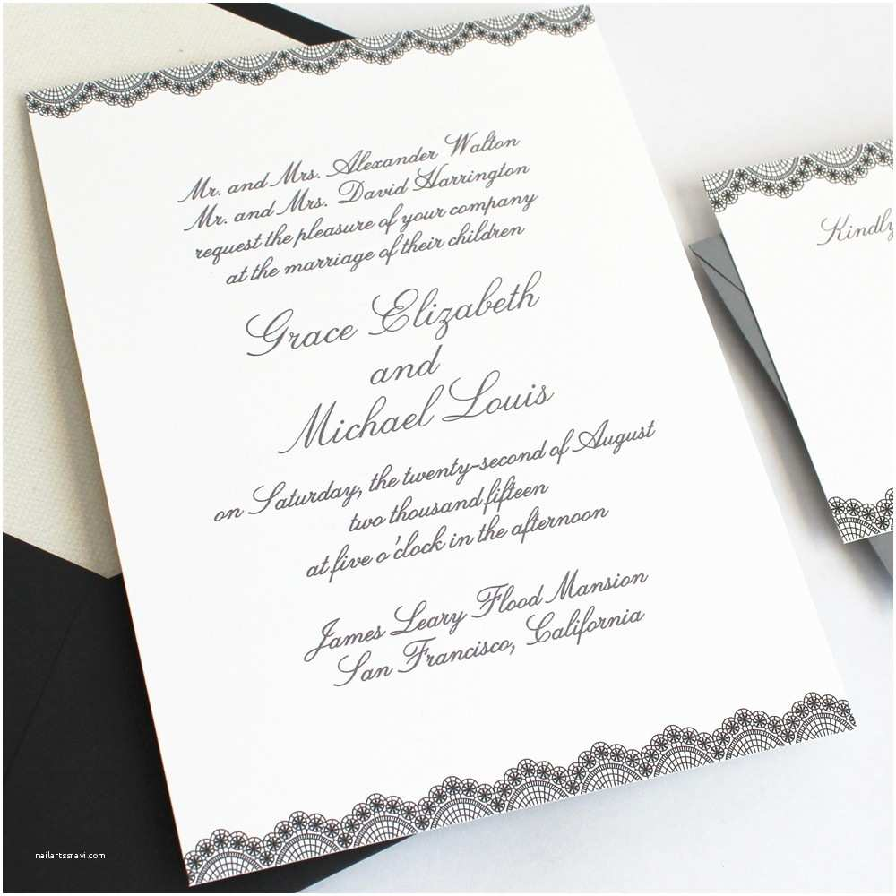 Wedding Invitation Content How To Word And Assemble Wedding Invitations