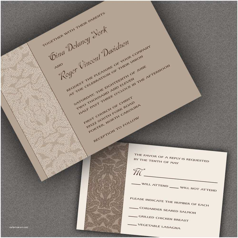 more ideas of formal wedding invitations to inspire