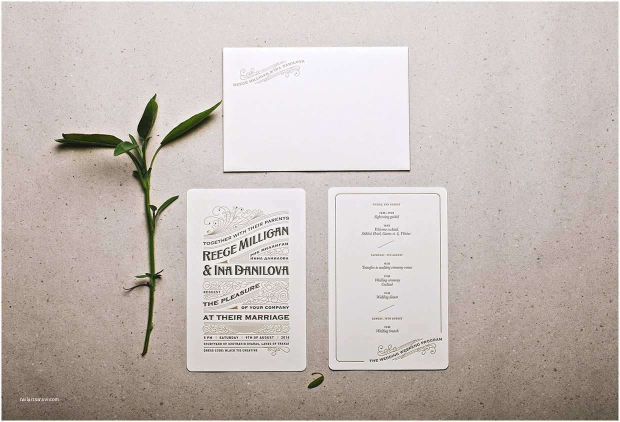 Wedding Invitation Cost Estimate Royal Letterpress Wedding Invitation
