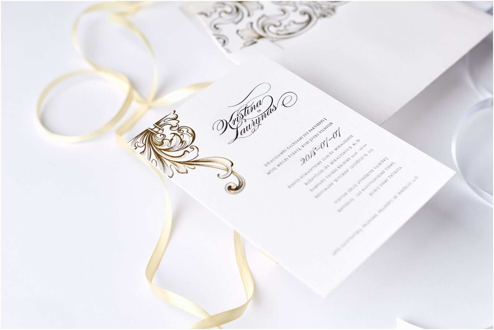Wedding Invitation Cost Estimate Victorian Style Letterpress Wedding