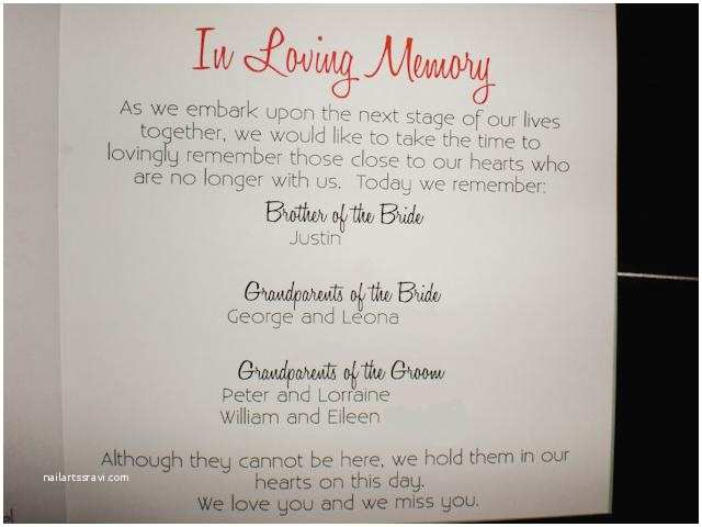 Wedding Invitation Deceased Pa Father The Bride Poems