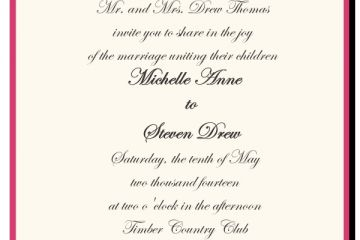Wedding Invitation Deceased Parent How To Choose The Best