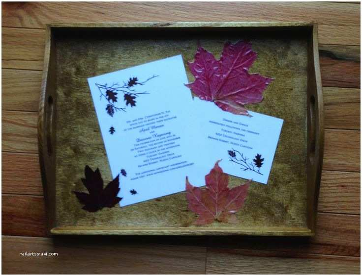 Wedding Invitation Decoupage Tray Wedding Invitation Keepsake I Purchased An Unfinished