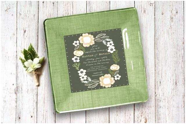 Wedding Invitation Decoupage Tray Wedding Invitation Tray Unique Wedding Gift Idea for