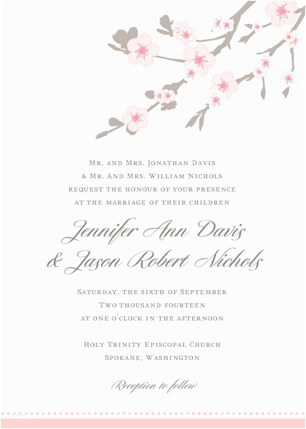 Wedding Invitation Designs Free Download Shop Invitation Templates