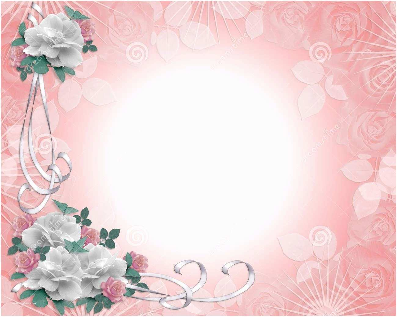 Wedding Invitation Designs Pink Wedding Invitation Backgrounds