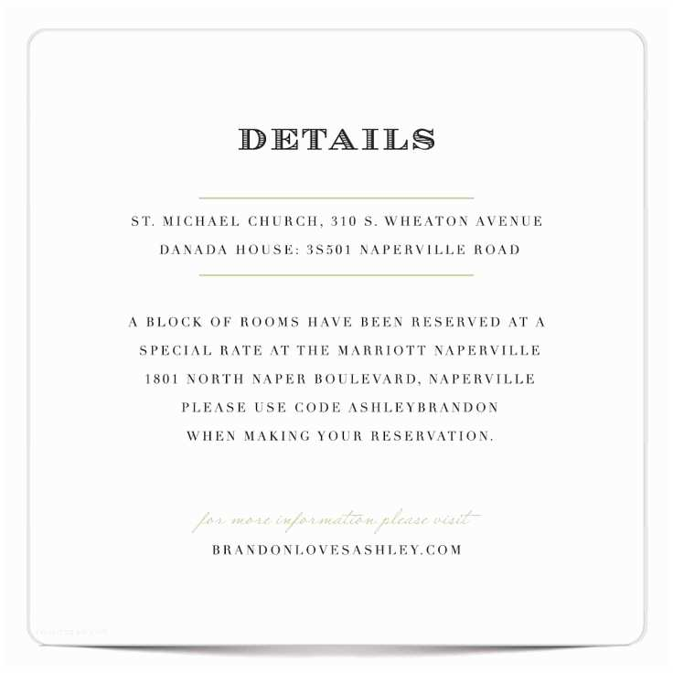 Wedding Invitation Details Wedding Invitation Details Wording
