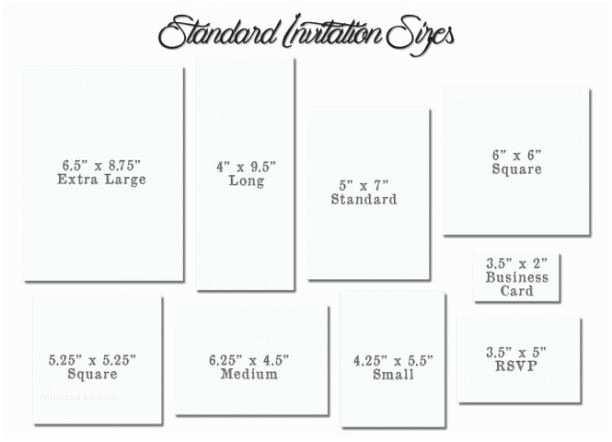 Wedding Invitation Dimensions Invitation Card Size Best Birthday Invitation Card Size 56