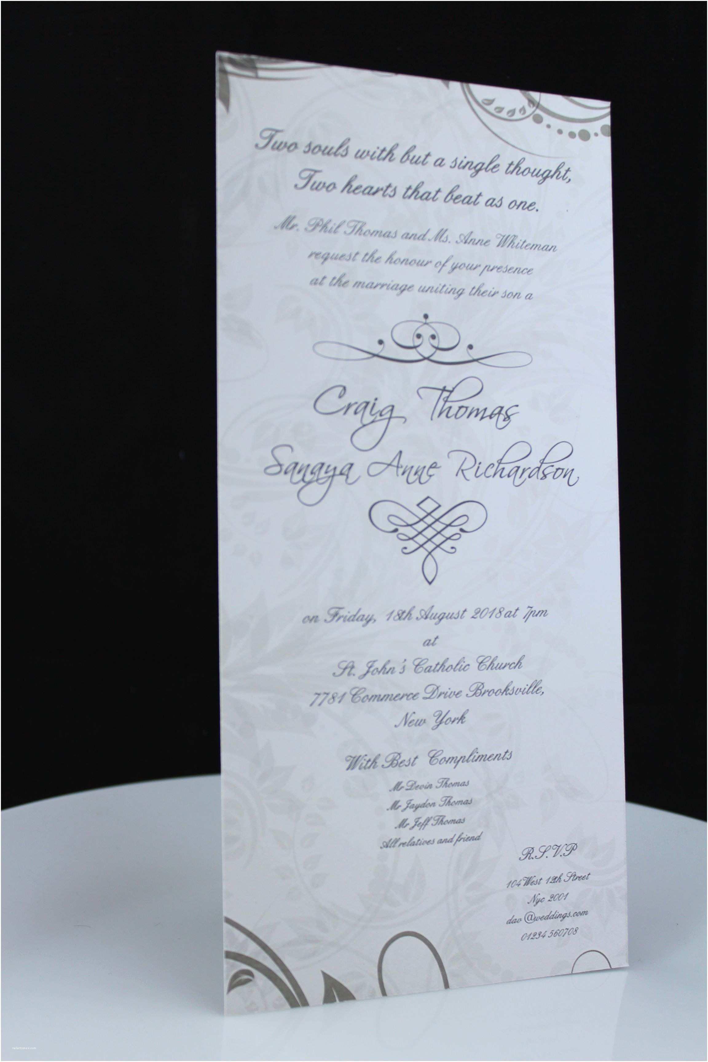 Wedding Invitation Dimensions Wedding Invitation Wording Wedding Invitation Templates