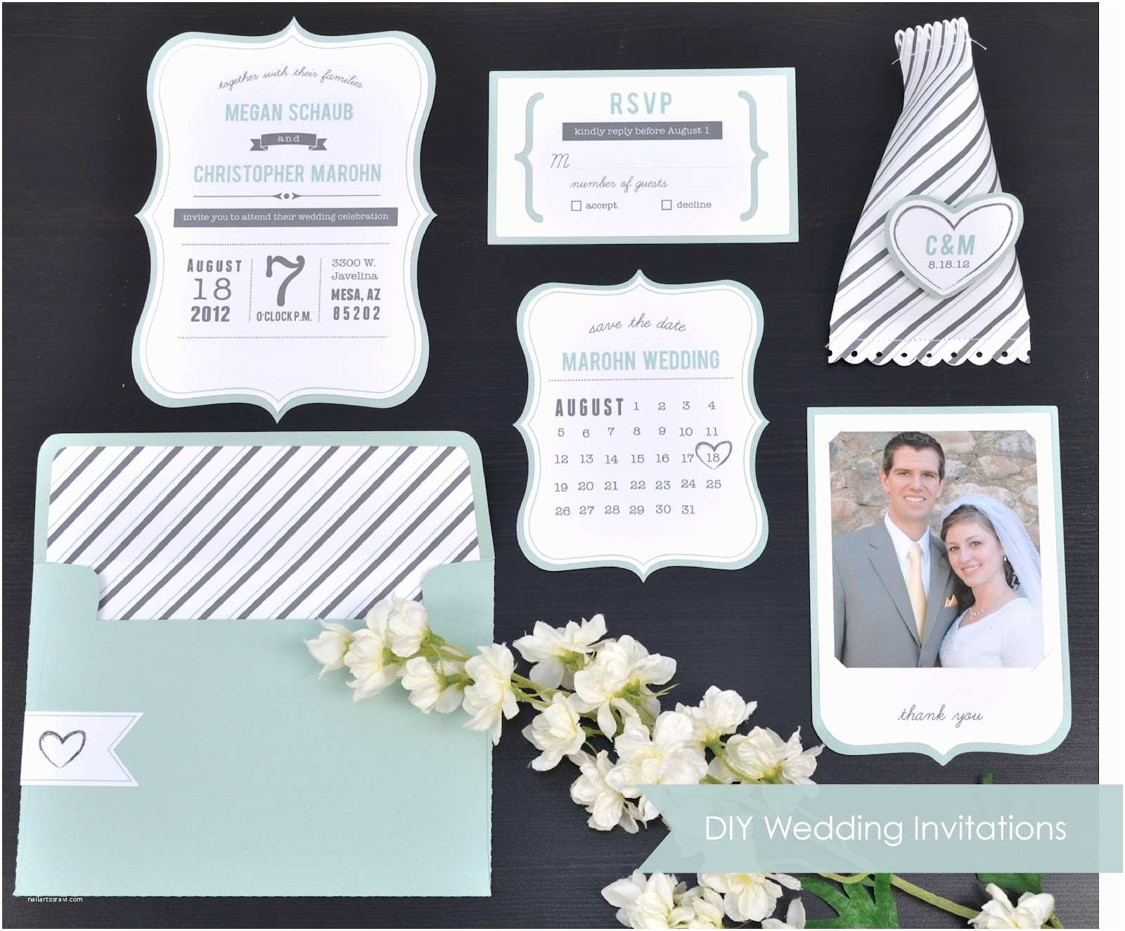 Wedding Invitation Diy 10 Great Diy Wedding Projects Yeahmag