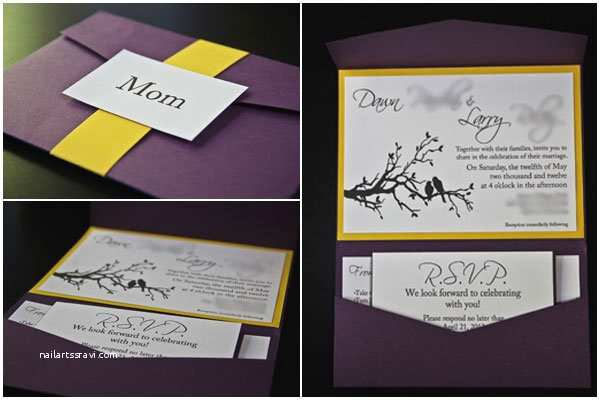 Wedding Invitation Diy 25 Cool Diy Wedding Invitation