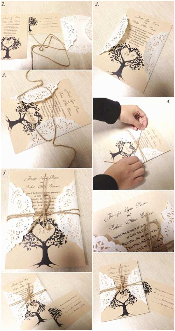 Wedding Invitation Diy 5 original & Stress Free Diy Wedding Ideas Including