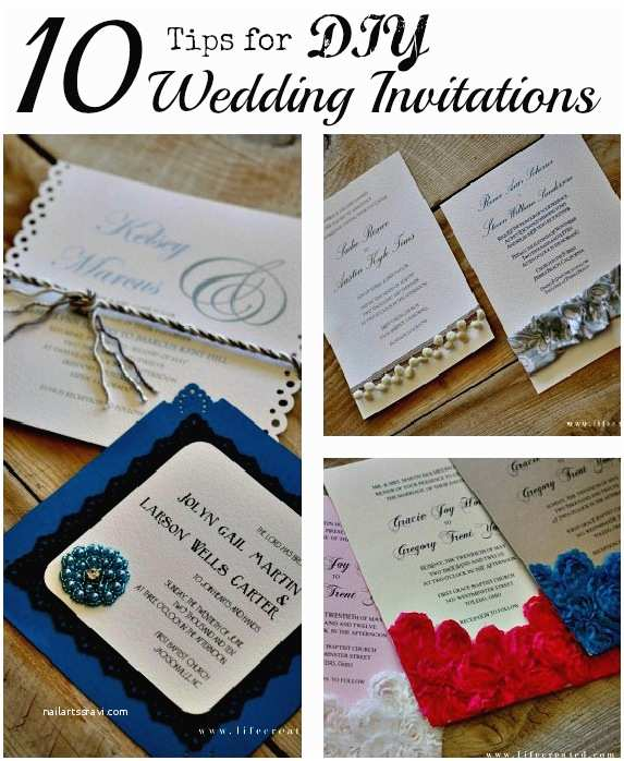 Wedding Invitation Diy Craftaholics Anonymous