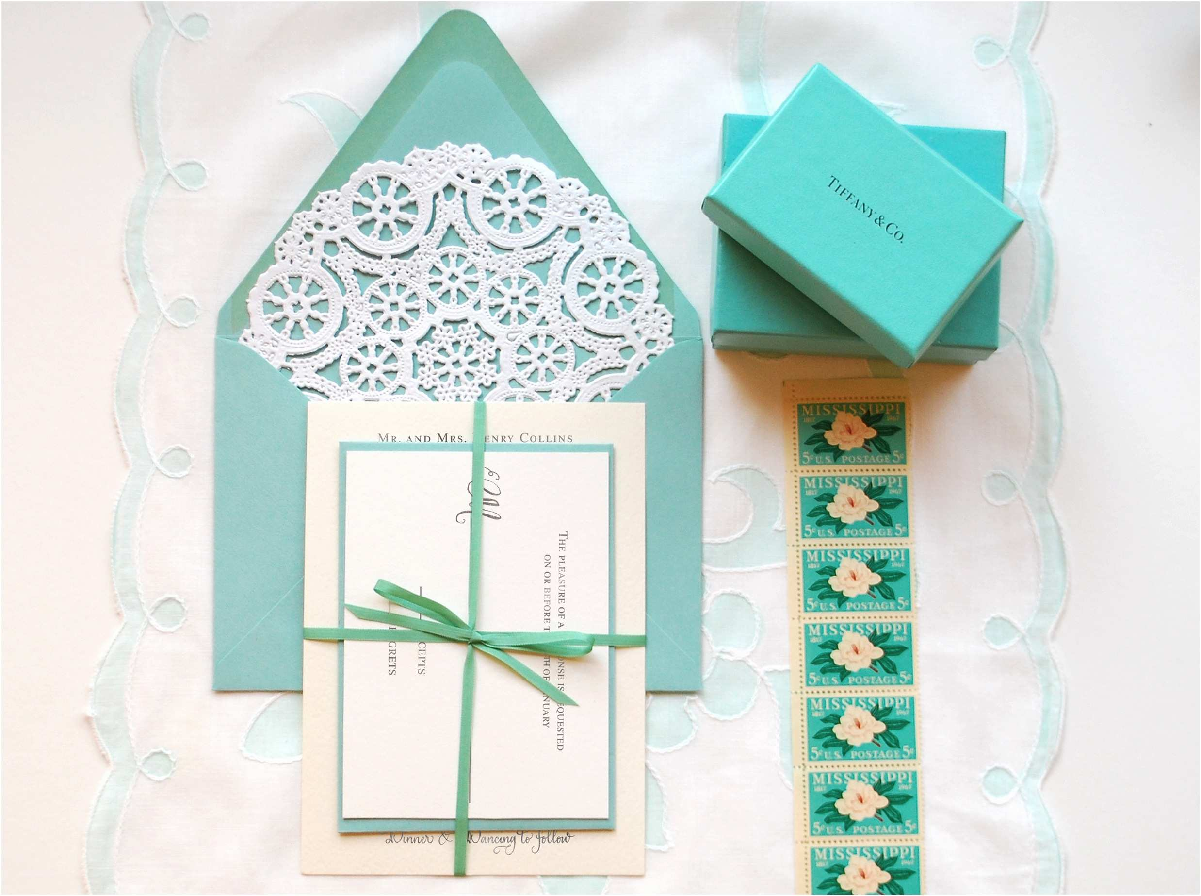 "Wedding Invitation Diy Diy ""little Blue Box"" Inspired Rubber Stamp Wedding"