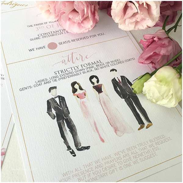 Wedding  Dress Code Parts Of A Wedding