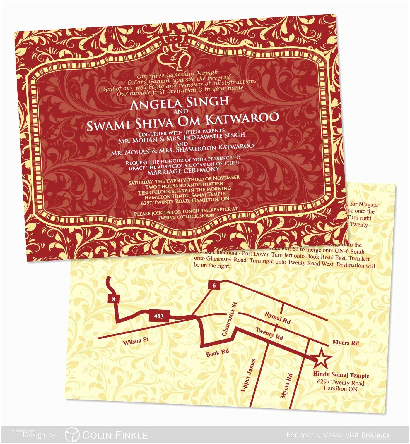 unique ideas for hindu wedding invitations ideas