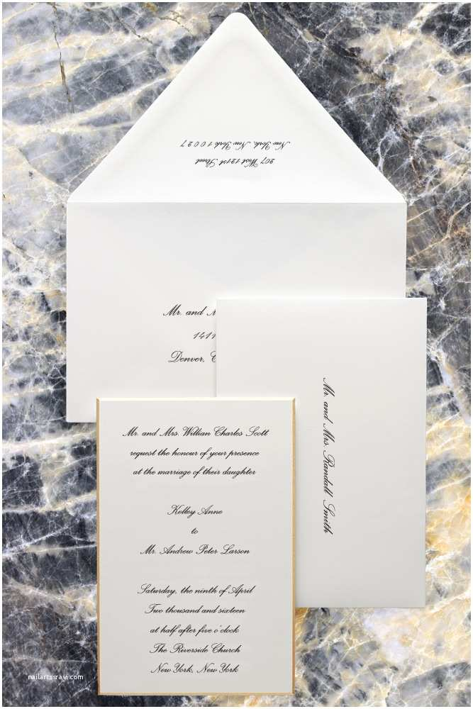 Wedding Invitation Edicate Traditional Wedding Invitation Etiquette No Children