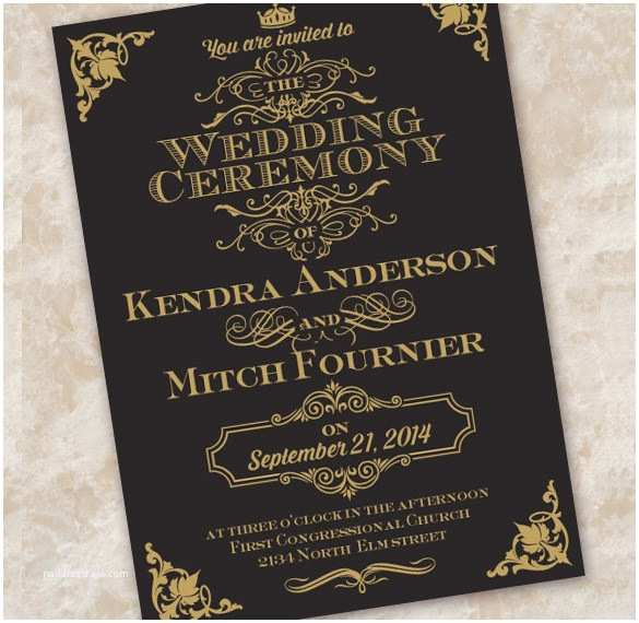 Wedding Invitation Edicate Wedding Invitation Etiquette 17 Psd Indesign format