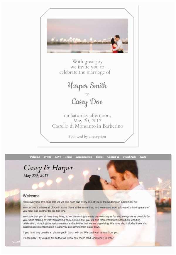 Wedding Invitation Email Template 10 Wedding Email Invitation