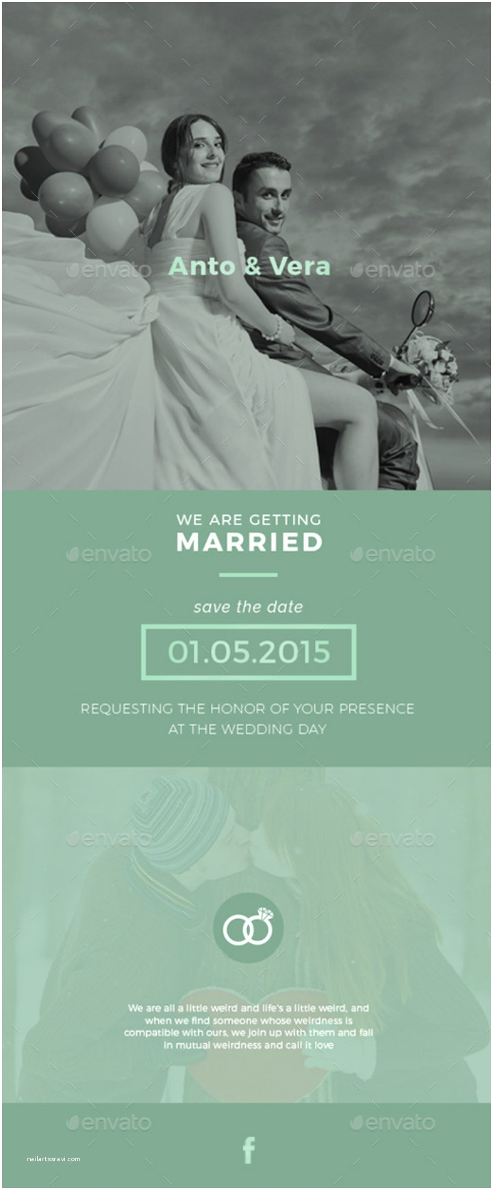 Wedding Invitation Email Template 14 Wedding Email Designs & Templates Psd Ai