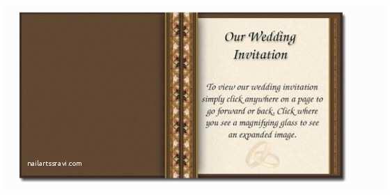 Wedding Invitation Email Template Best Wedding Invitation Email