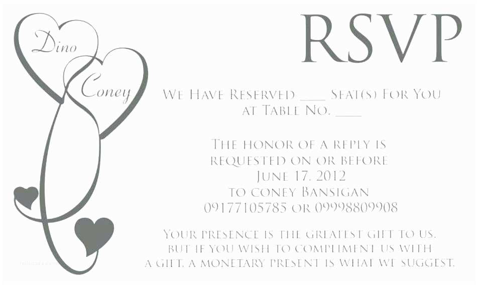 Wedding Invitation Email Template