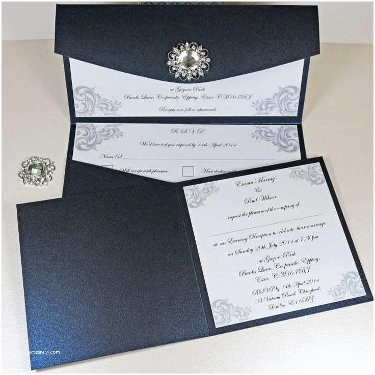Wedding Invitation Embellishments 13 Best Elegant Vintage Jewel Wedding Invitations Images
