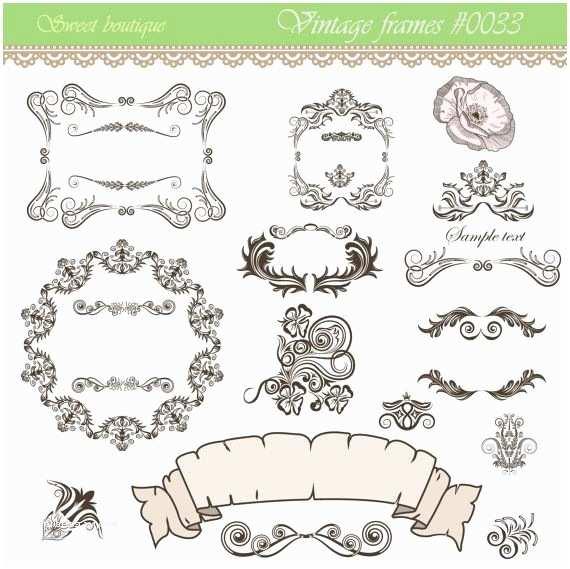 Wedding Invitation Embellishments 14 Calligraphy Clip Art Clipart Diy Wedding Invitation
