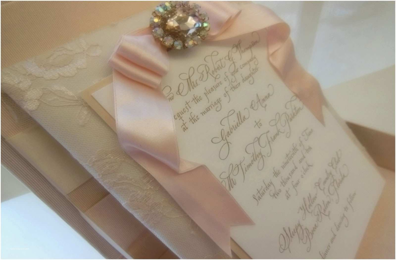 Wedding Invitation Embellishments Embellishments Custom Designed Wedding Invitations