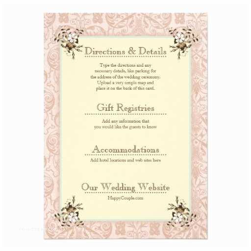 """Wedding Invitation Enclosures 1900s Vintage Wedding Invitation Enclosure Cards 4 5"""" X 6"""