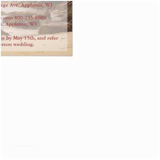 "Wedding Invitation Enclosures Beach Wedding Enclosure Cards Rocky Beach 4 25"" X 5 5"