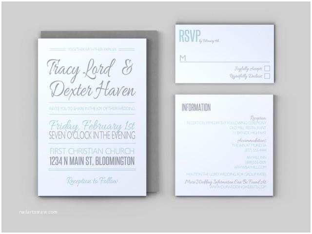 Wedding Invitation Enclosures Casual Wedding Invitation Set Invitation Response Card