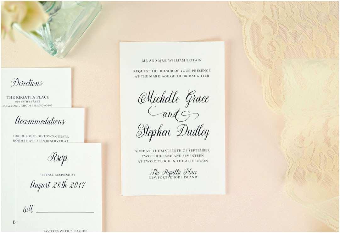 Wedding Invitation Enclosures Wedding Invitation Inserts