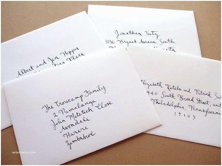 Wedding Invitation Envelope Address Template Addressing Wedding Invitation Envelopes Wonderful