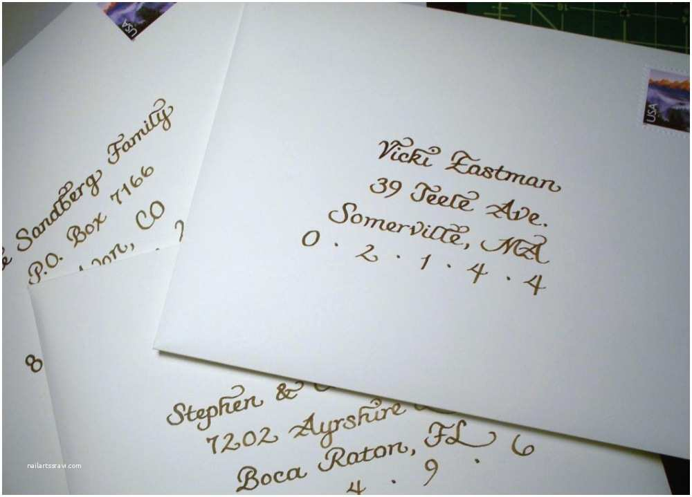 Wedding Invitation Envelope Address Template Awesome Addressing Wedding Invites Gallery Styles