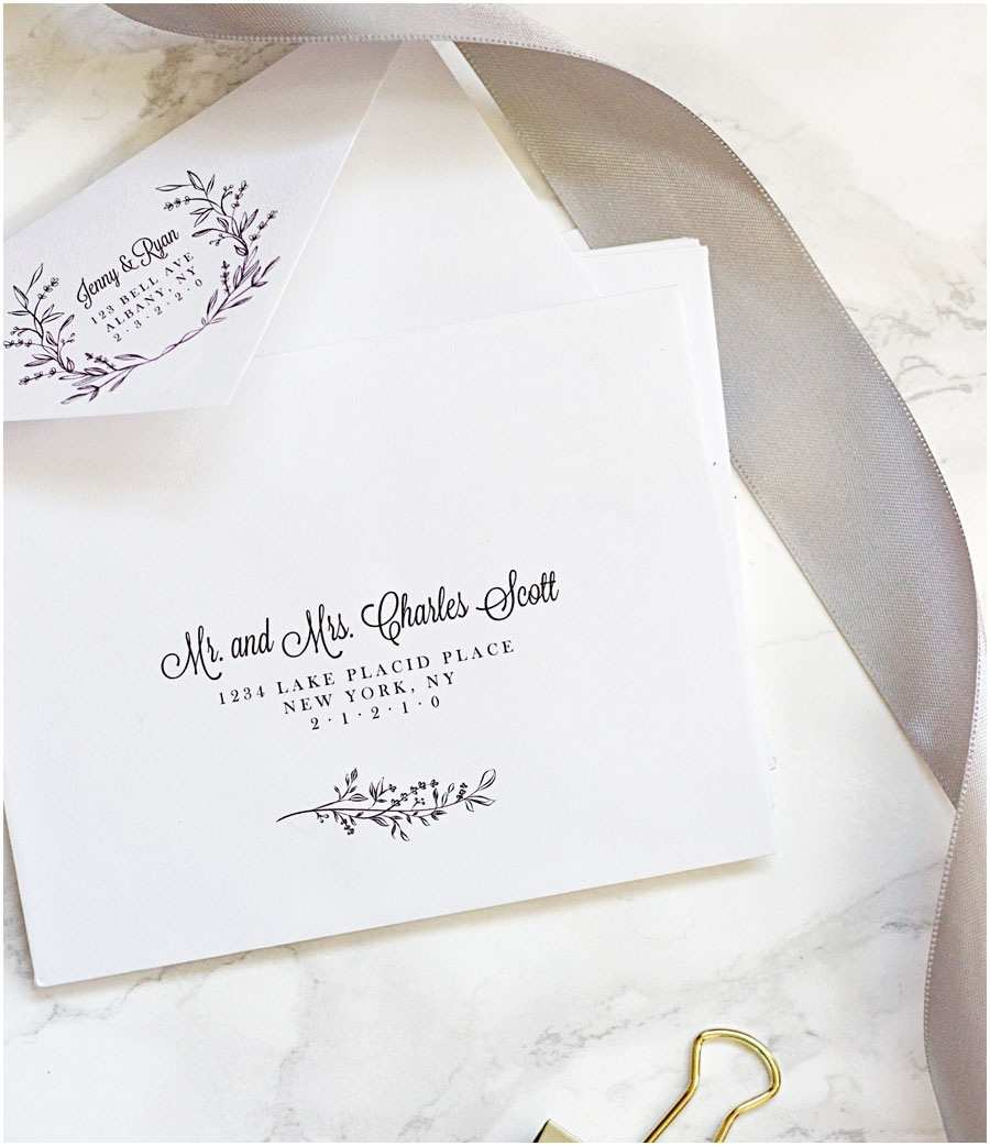 Wedding Invitation Envelope Address Template Easy Printable Envelope Template