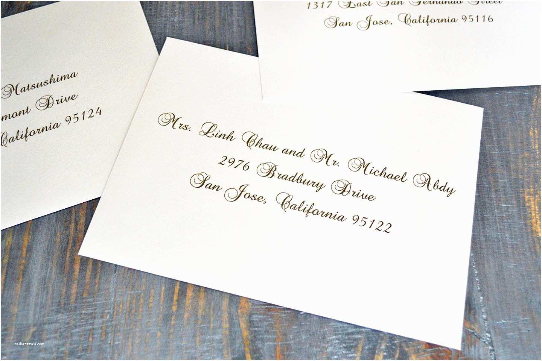 Wedding Invitation Envelope Address Template How to Address Wedding Invitation Envelopes