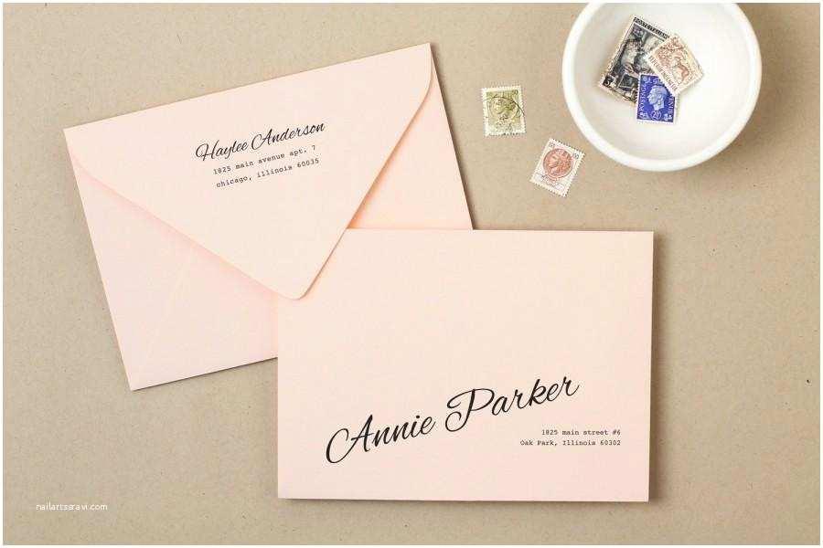 Wedding Invitation Envelope Address Template Invitation Printable Wedding Envelope Template